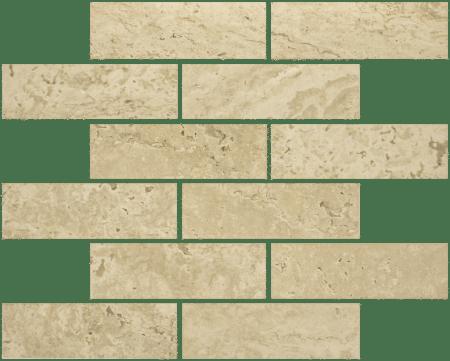 Antico 2×6 sand mosaic