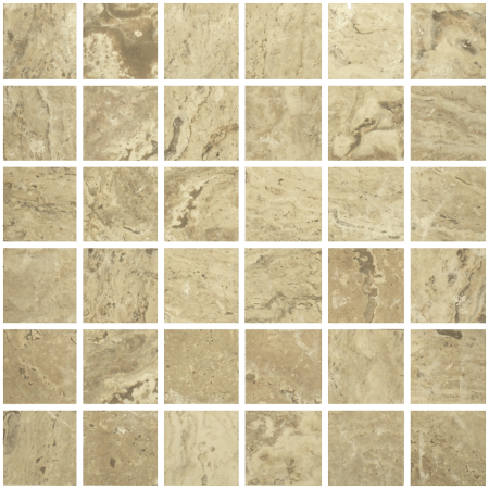 Antico 2×2 walnut mosaic