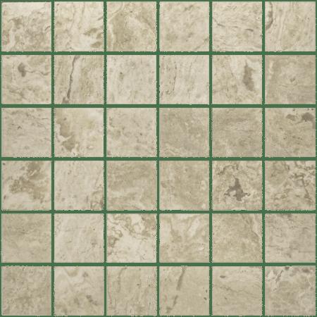 Antico 2×2 ivory mosaic