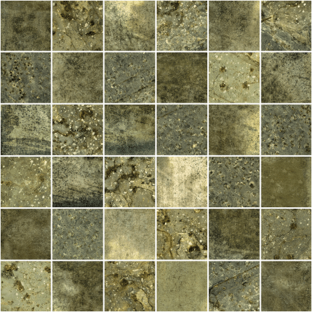 Magma 2×2 charcoal mosaic