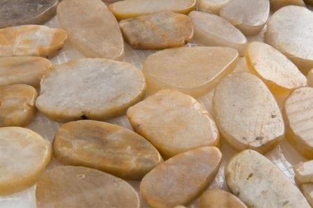 Zen Pebbles 12×12 flat tonga sunset