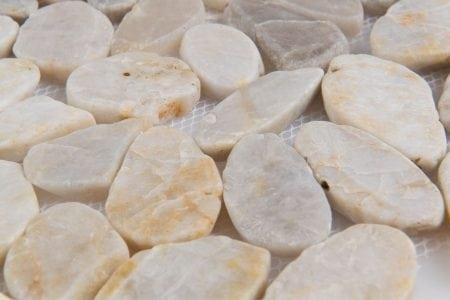 Zen Pebbles 12×12 flat fiji cream