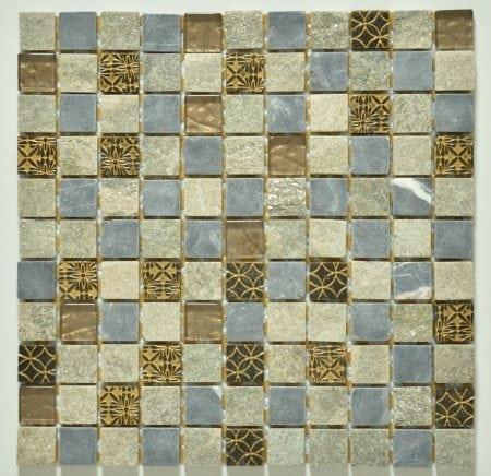 Milstone sari mosaic