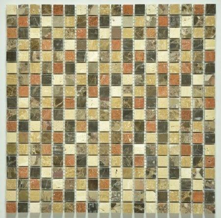 Milstone carmel polished mosaic