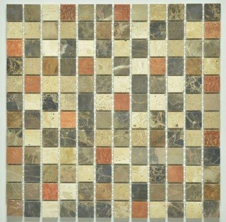 Milstone carmel honed mosaic