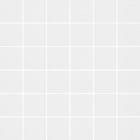 Soho 2×2 white matte mosaic