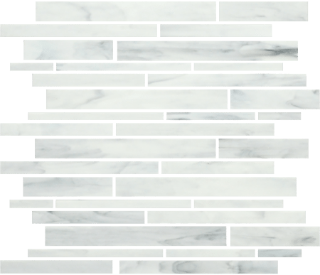 Bliss Baroque strip carrara mos