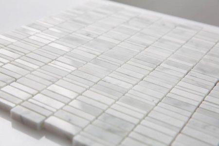 Milstone-calacatta-mini-stick-mosaic